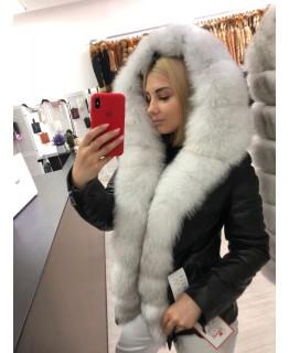 Куртка с мехом арт. 3235