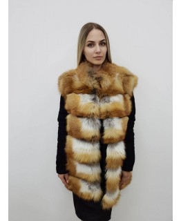 Куртка из лисы арт. 2401
