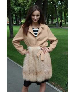 Пальто с мехом арт. 3285
