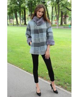 Коротке стильне пальто арт. 3294