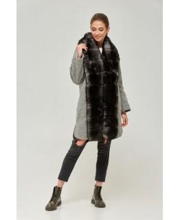Пальто с мехом арт. 2250