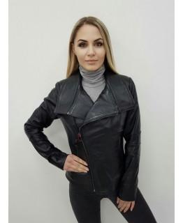 Шкіряна куртка арт. 2572