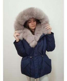 Куртка с мехом арт. 3324