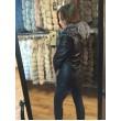 Куртка - трансформер с мехом чернобурки арт. 726 - фото 3