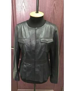Женская модная куртка из натуральной кожи арт. 1085