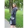 Пальто с мехом чернобурки арт. 3286 - фото 3