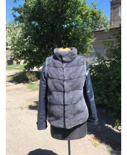 Куртка трансформер из меха норки арт. 1990