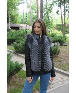 Куртка из меха чернобурки арт. 694