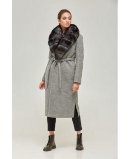 Удлиненное пальто арт. 2261