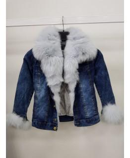 Коротка дитяча джинсовка арт. 2564