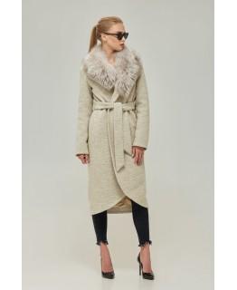 Пальто с воротником арт. 2275