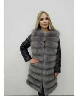 Меховая куртка-трансформер арт. 2472