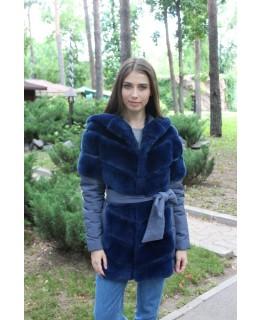 Меховая куртка из бобрика арт. 1187
