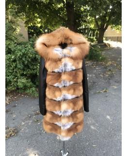 Куртка из меха лисы арт. 1995