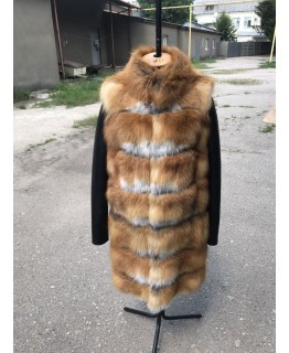 Куртка из меха лисы арт. 1996