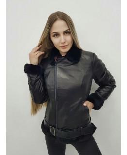 Куртка-трансформер аметистового кольору арт. 2325