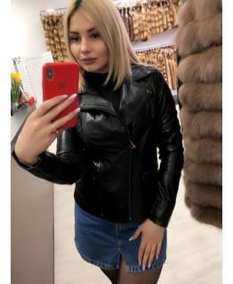 Шкіряна куртка арт. 2758