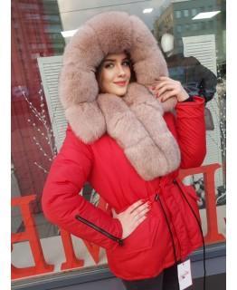 Куртка с мехом арт. 3369